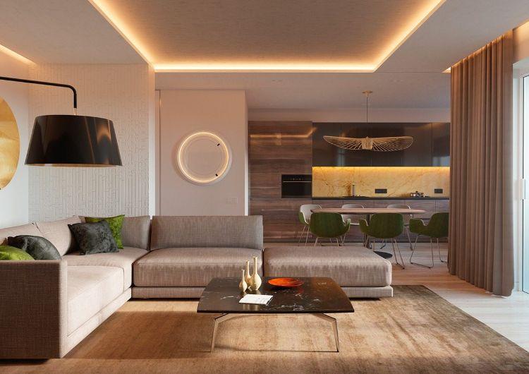 Décoration moderne d'intérieur