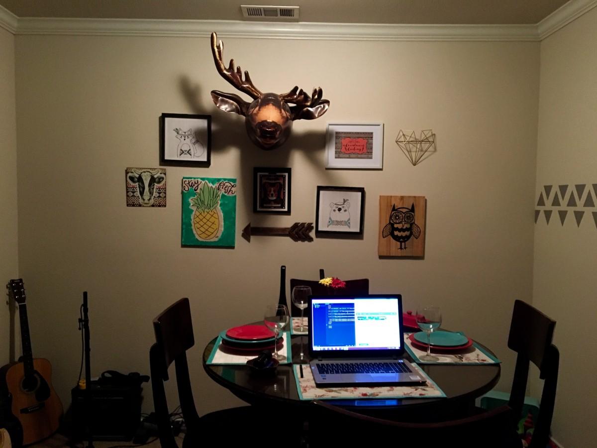 Pour une chambre estudiantine à la fois pratique et bien décorée