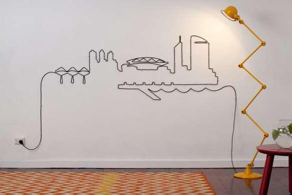 Comment faire passer des câbles audio-visuels à travers les murs?